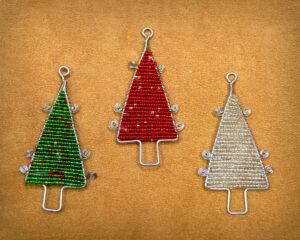 Tree Beaded Ornaments