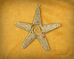 Star beaded Ornament